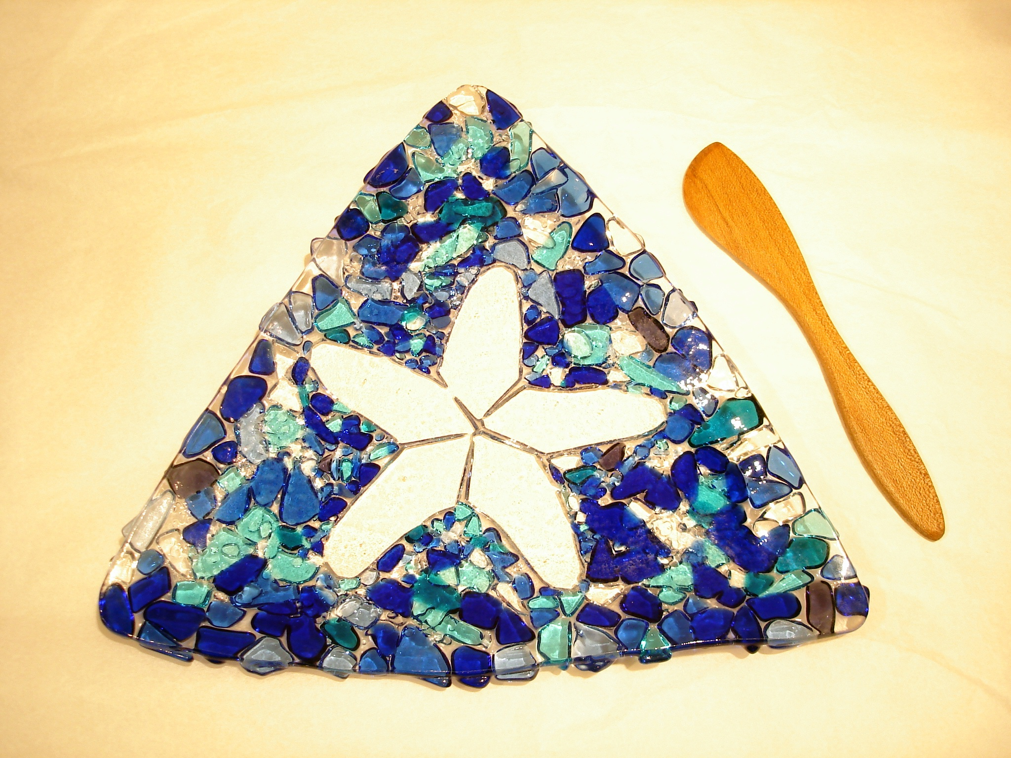 Blue Starfish Pate Plate