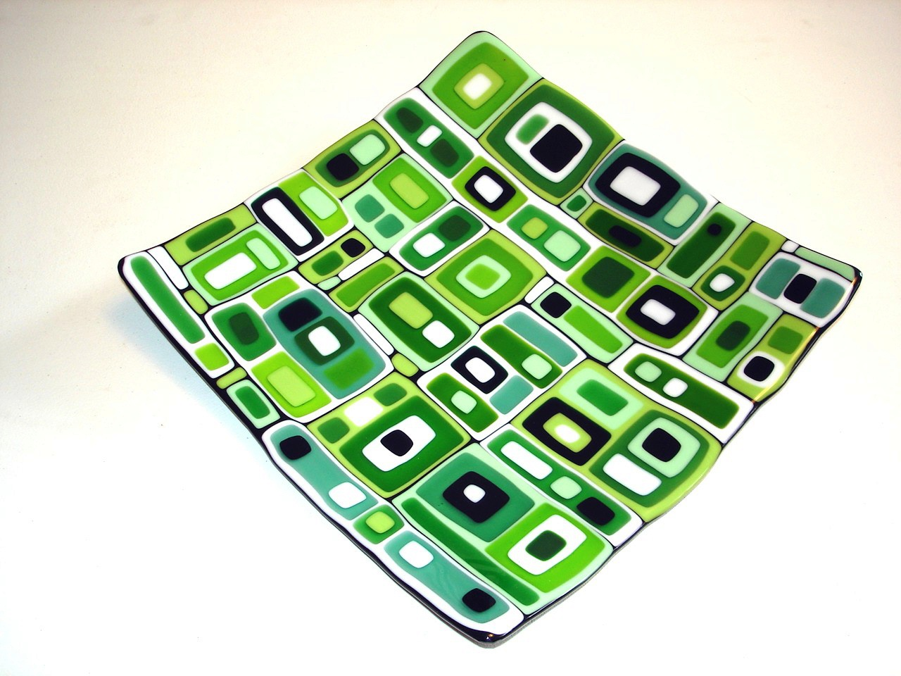Green Square Dish